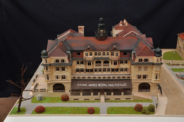 Grand hotel Royal – Hotel Slovan - model